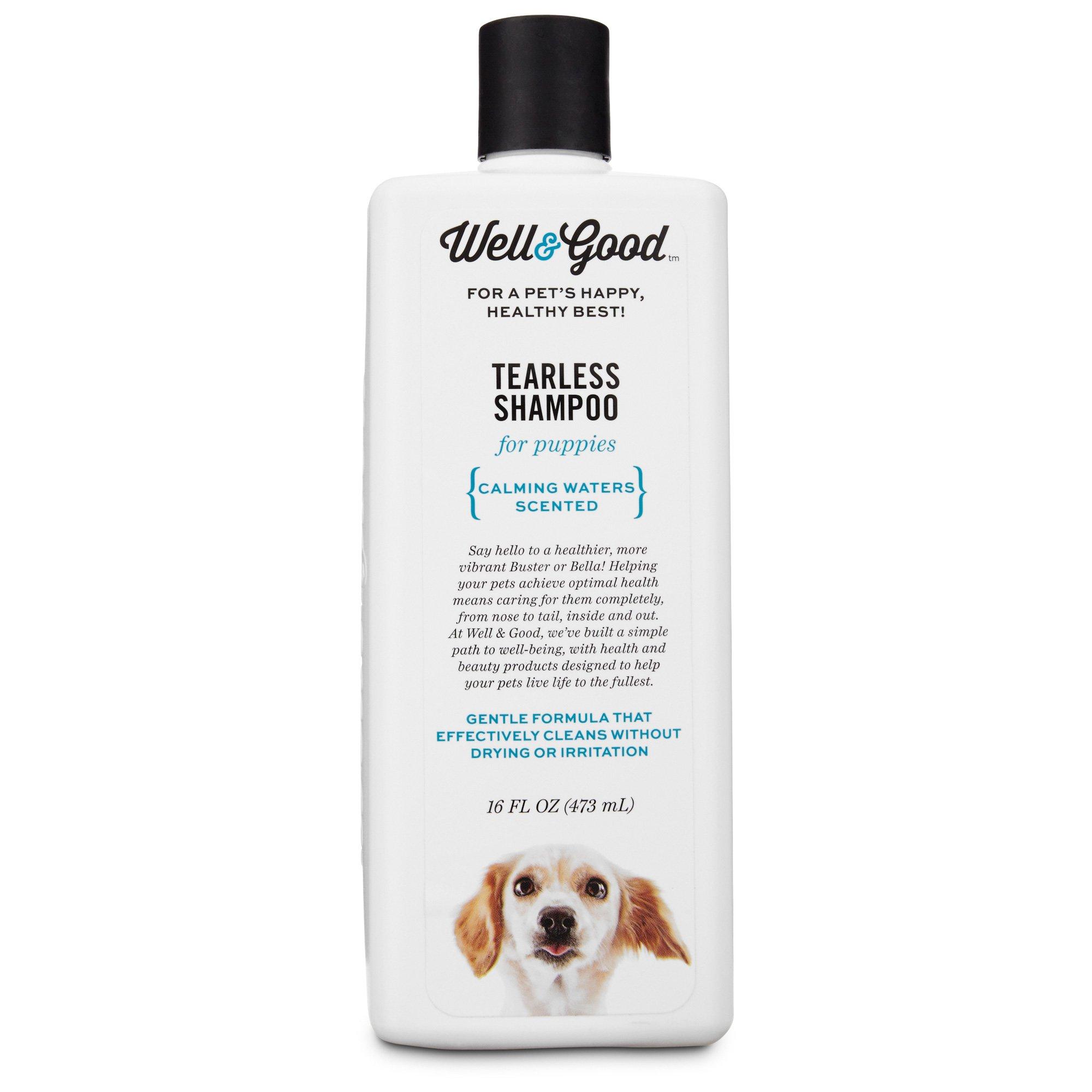 Well & Good Tearless Puppy Shampoo