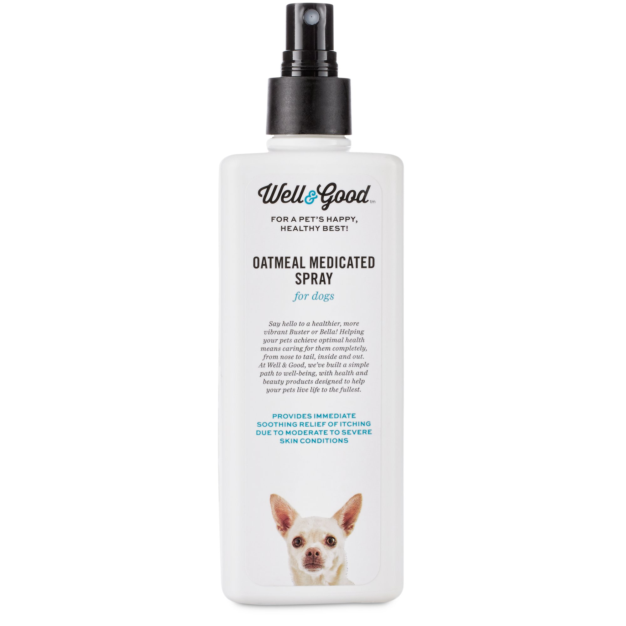Well & Good Oatmeal Medicated Dog Spray