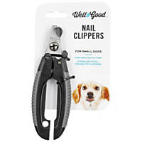 Well & Good Stainless Steel Nail Clippers for Small Dogs