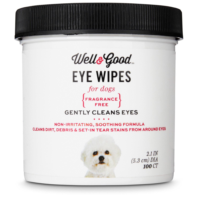 Well & Good Dog Eye Wipes