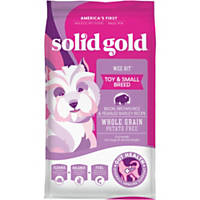 Solid Gold Wee Bit Bison, Brown Rice & Pearled Barley Dog Food