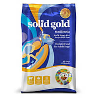 Solid Gold MMillennia Beef, Brown Rice & Peas Adult Dog Food