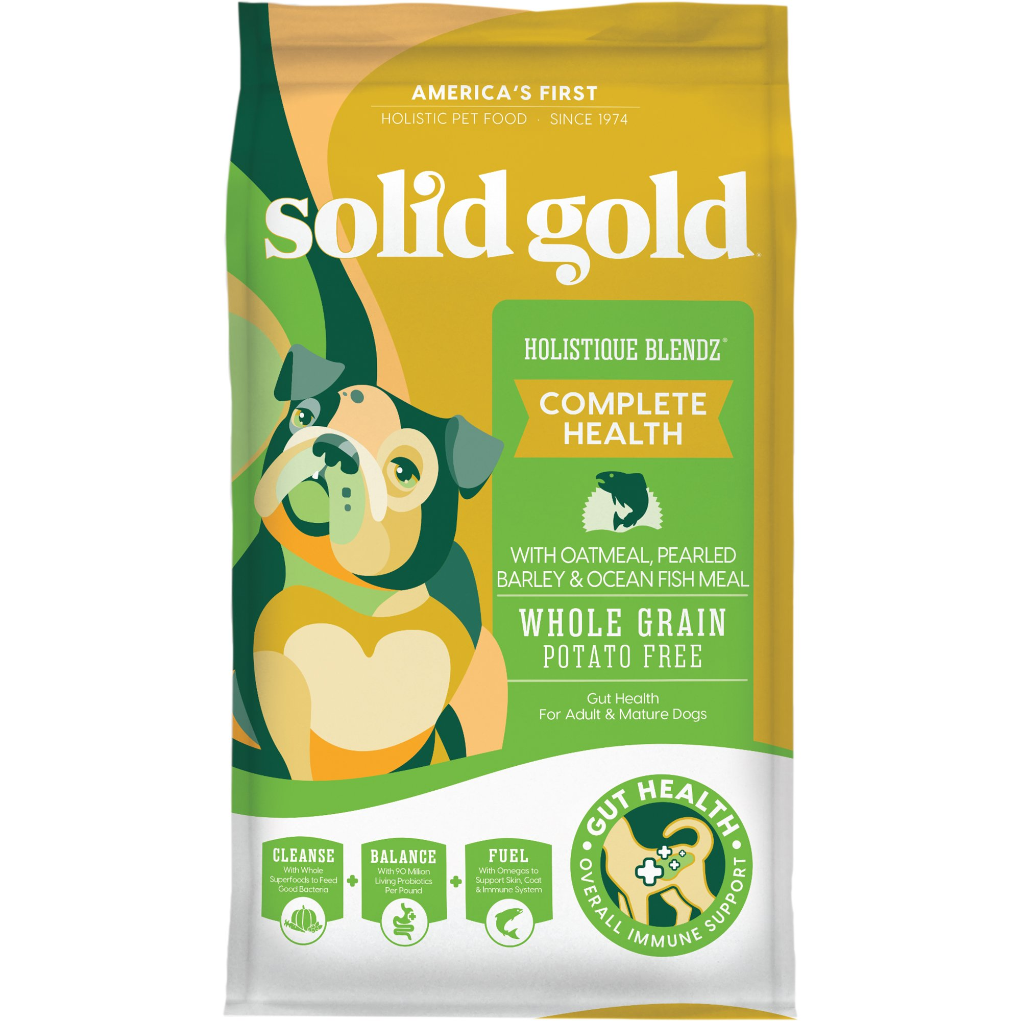 Solid gold holistique blendz oatmeal pearled barley for Solid gold fish