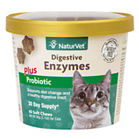 NaturVet Digestive Enzymes Cat Supplement