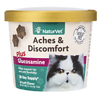 NaturVet Aches & Discomfort Cat Supplement