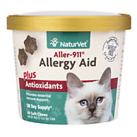 NaturVet Cat Allergy Aid Supplement