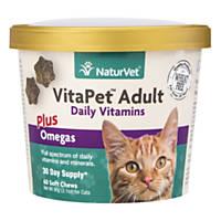 NaturVet VitaPet Adult Cat Daily Vitamins