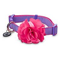 Good2Go Flower Dog Collar in Pink