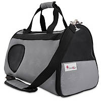 Good2Go Ultimate Pet Carrier in Gray & Black