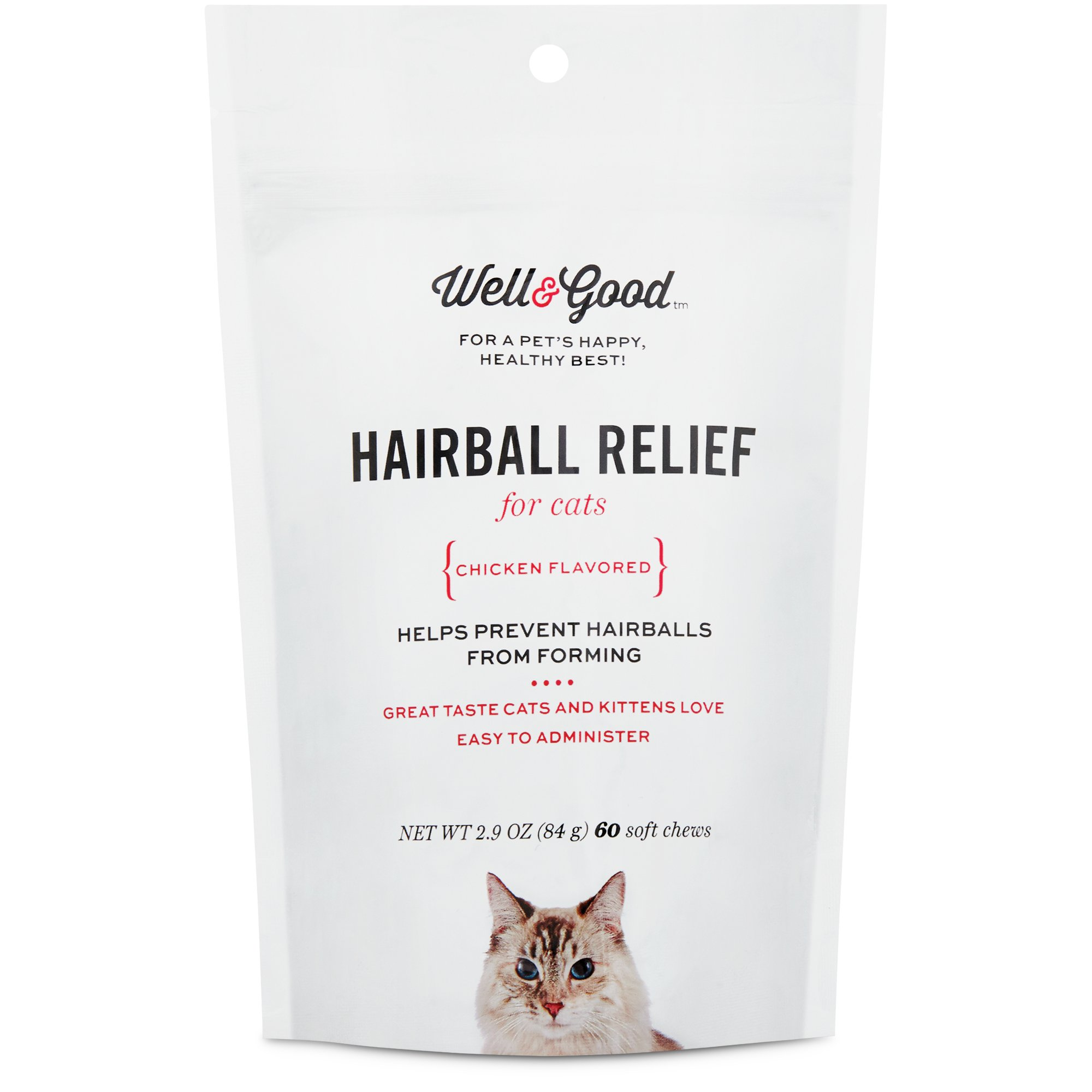Well & Good Hairball Control Soft Chew