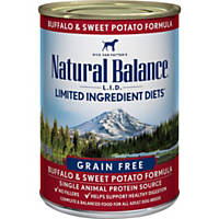Natural Balance Limited Ingredient Diets Buffalo & Sweet Potato Canned Dog Food