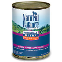Natural Balance Original Ultra Venison, Turkey & Lamb Canned Dog Food