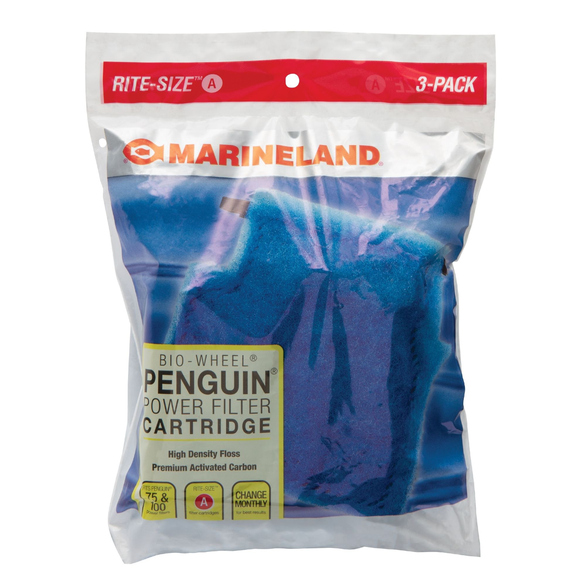 Marineland Rite-Size Bonded Filter Sleeve Three-Pack for Penguin Mini