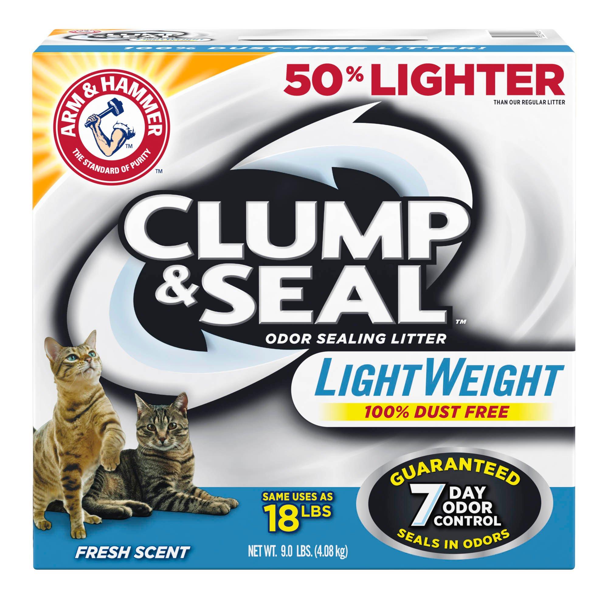Arm & Hammer Clump & Seal Lightweight Odor Sealing Cat Litter