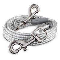 You & Me Reflective Large Free to Flex Dog Tie-Out Cable