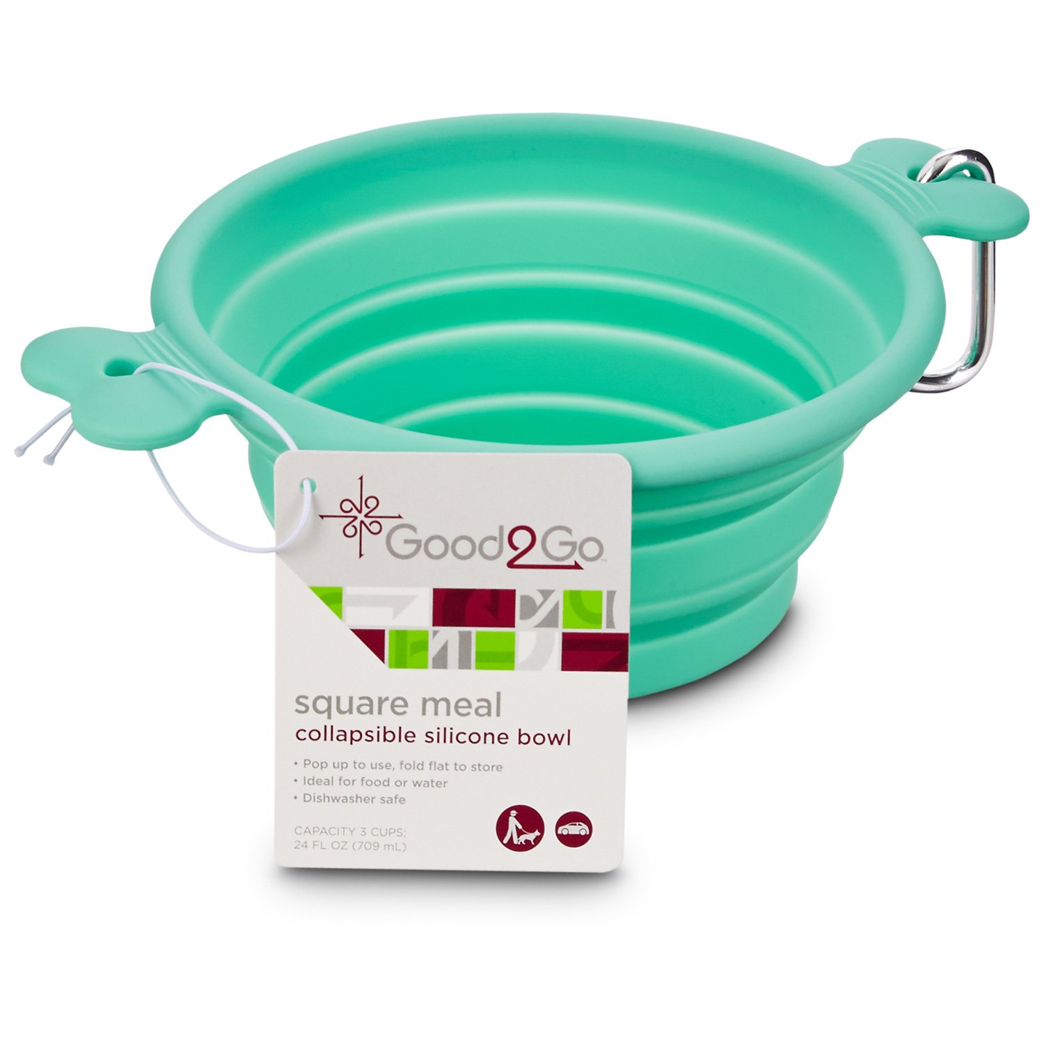 Good2Go Pet Collapsible Silicone Travel Bowl