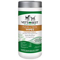 Vet's Best 50 Count Flea + Tick Wipes