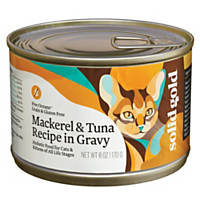 Solid Gold Five Oceans Mackerel & Tuna Grain Free Canned Cat Food