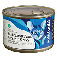 Solid Gold Five Oceans Sea Bream & Tuna Grain Free Canned Cat Food