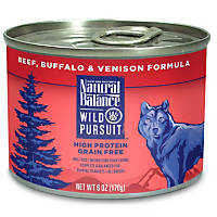 Natural Balance Wild Pursuit Beef, Buffalo & Venison Canned Dog Food