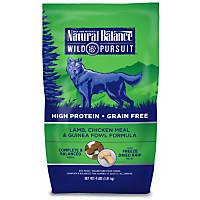 Natural Balance Wild Pursuit Lamb, Chicken & Guinea Fowl Dog Food