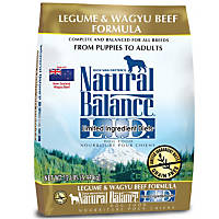 Natural Balance L.I.D. Limited Ingredient Diets Legume & Wagyu Beef Dog Food