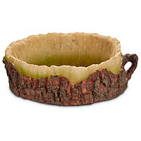 Imagitarium Log Bowl Reptile Dish