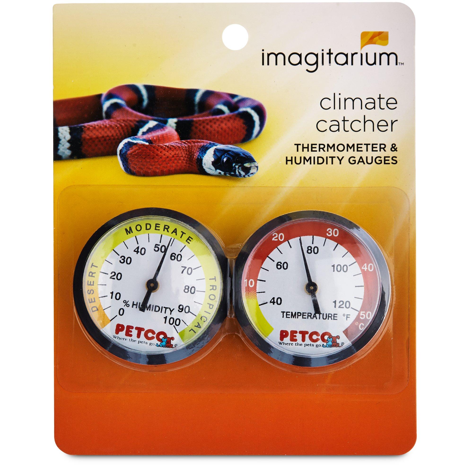 Imagitarium Thermometer Humidity Gauge Combo Pack