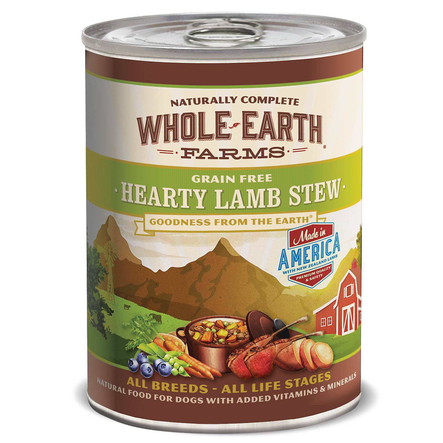 grain hearty lamb stew canned