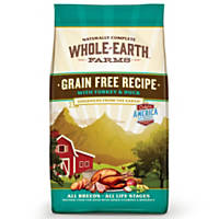 Whole Earth Farms Grain Free Turkey & Duck Dog Food