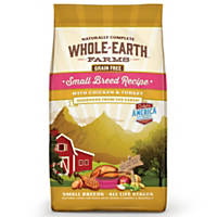 Whole Earth Farms Grain Free Small Breed Dog Food