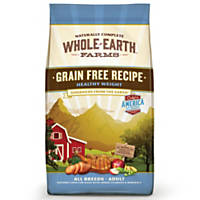 Whole Earth Farms Grain Free Healthy Weight Adult Dog Food