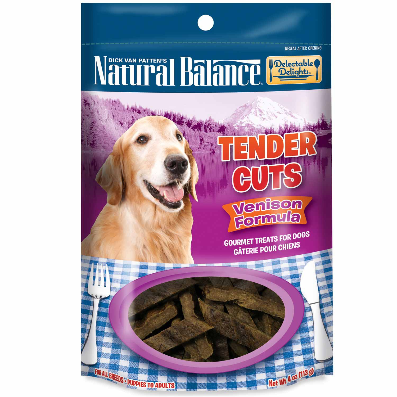 Natural Balance Delectable Delights Venison Tender Cuts Dog Treats