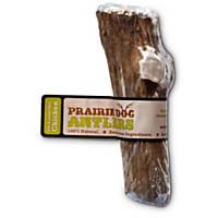 Prairie Dog Elk X-Large Split Chicken Antler Dog Chew