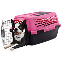 You & Me Relaxing Refuge Pink Dog Kennel