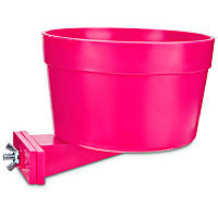 You & Me Yappy Meals Pink Attachable Dog Bowl