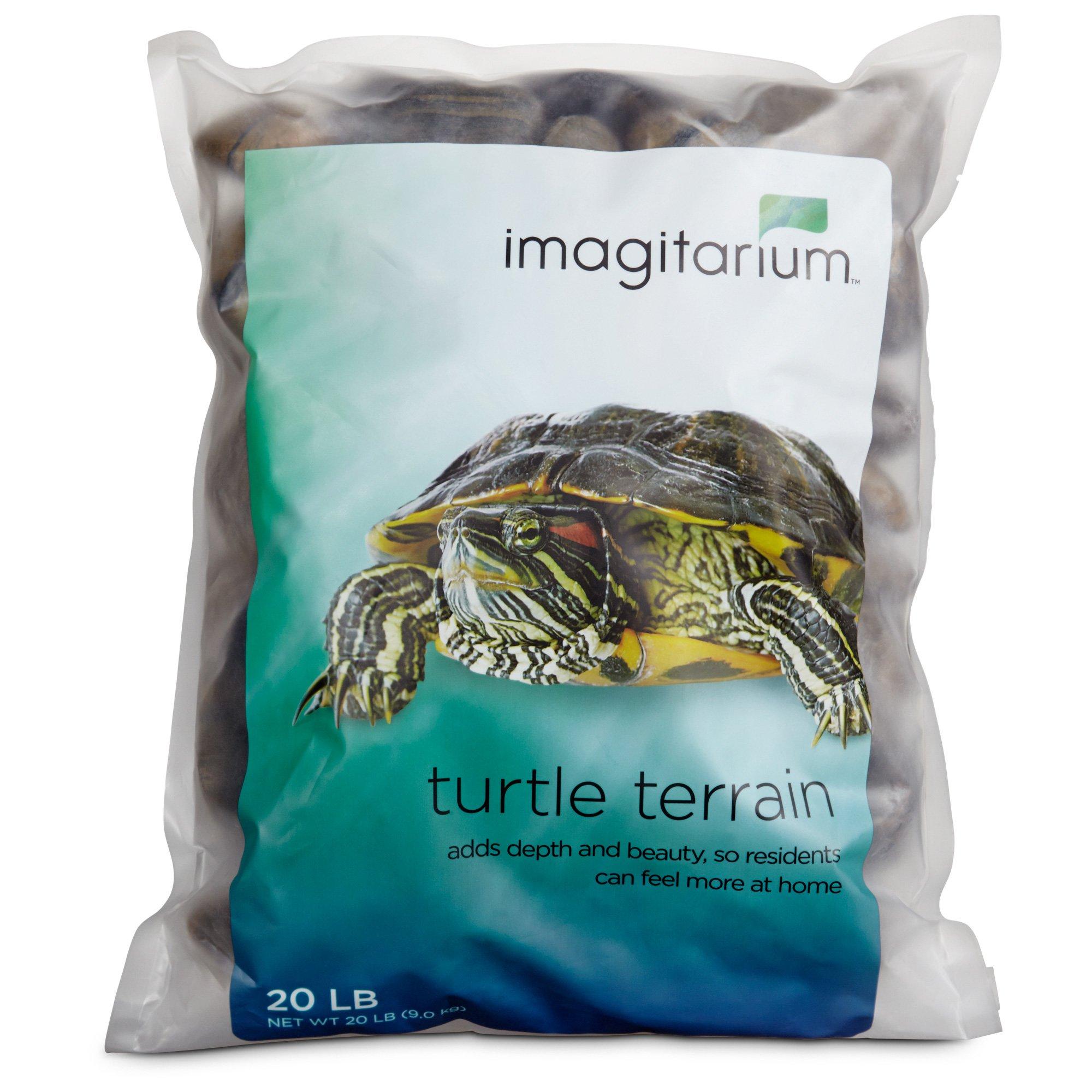 Imagitarium Turtle Terrain Tiger Stripe Rocks