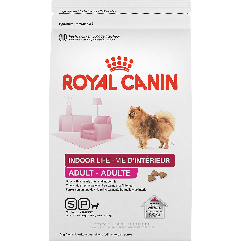 Royal Canin Indoor Life Small Breed Adult Dog Food, 2.5 lbs.