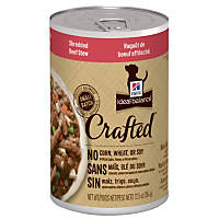 Hill's Ideal Balance Crafted Shredded Beef Stew Canned Dog Food