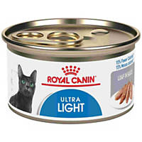Royal Canin Feline Health Nutrition Ultra Light Loaf in Sauce Adult Canned Cat Food