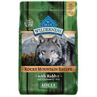 Blue Buffalo Wilderness Rocky Mountain Recipe Rabbit Adult Dog Food