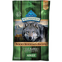Blue Buffalo Wilderness Rocky Mountain Recipe Rabbit Adult Dog Food