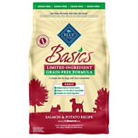 Blue Buffalo Basics Limited Ingredient Grain Free Salmon & Potato Adult Dog Food