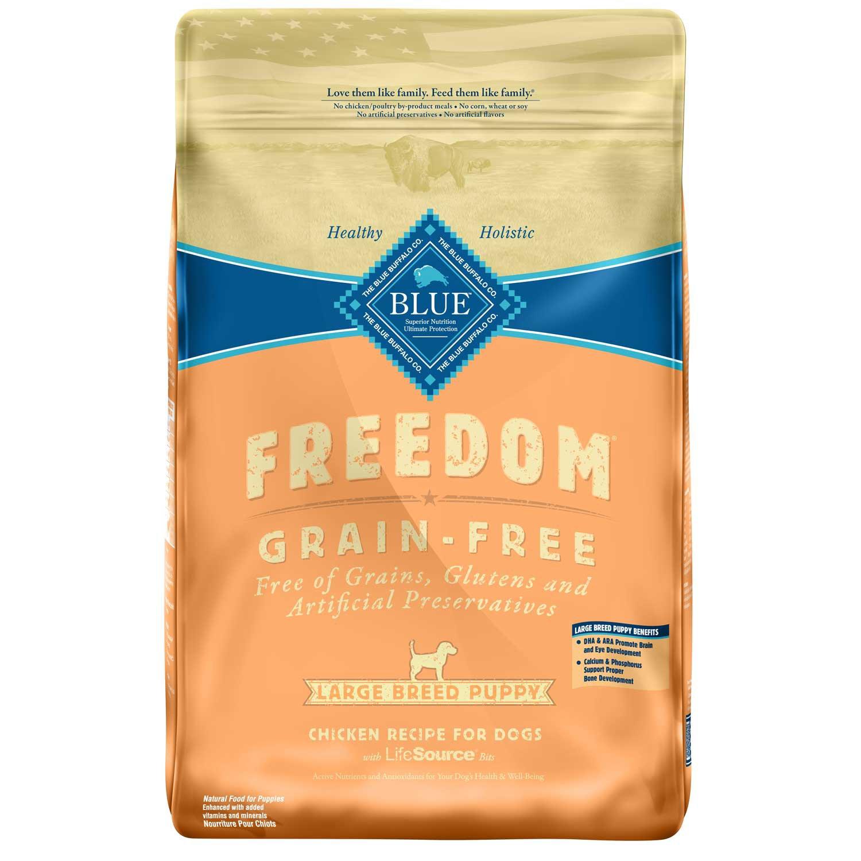 Blue Buffalo Freedom Grain Free Chicken Recipe Large Breed Puppy Food