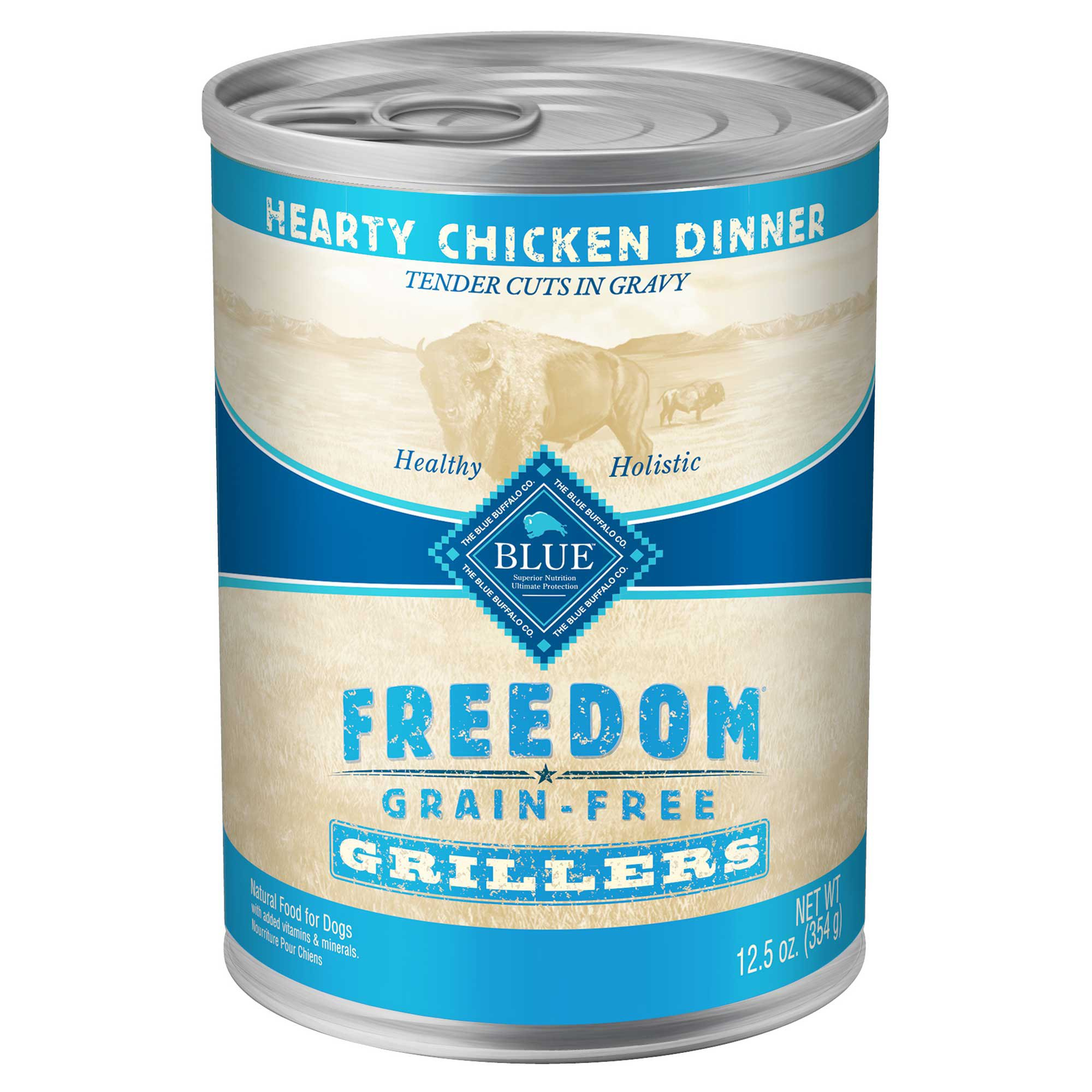 Blue Buffalo Freedom Grain Free Chicken Grillers Canned Dog Food
