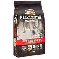 Merrick Backcountry Grain Free Raw Infused Great Plains Red Meat Adult Dog Food