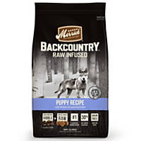 Merrick Backcountry Grain Free Raw Infused Puppy Food