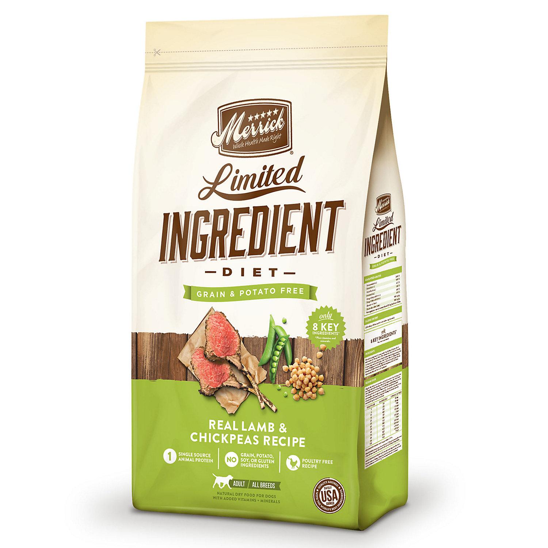 Merrick Limited Ingredient Diet Grain Free Lamb & Sweet Pota