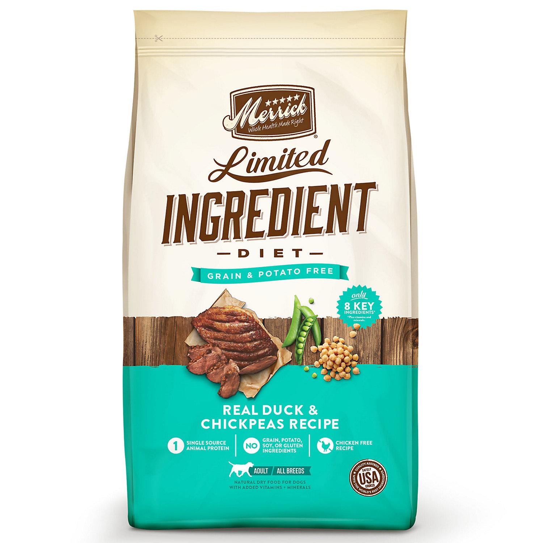 Merrick Limited Ingredient Diet Grain Free Duck & Sweet Pota