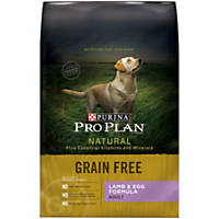 Pro Plan Natural Grain Free Lamb & Egg Adult Dog Food